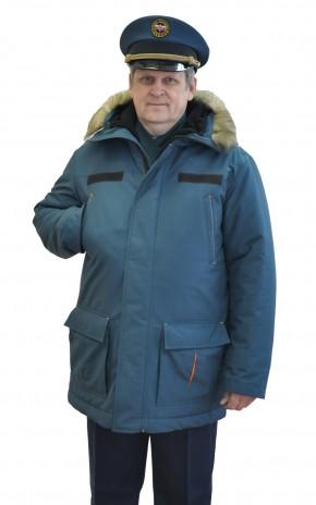 Куртка зимняя на синтетическом утеплителе для сотрудников МЧС РФ